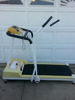 Viatamaster dual action treadmill.