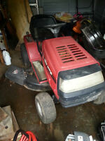 turf riding mower 13 hp.
