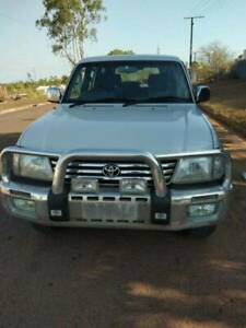 Toyota Landcrusier Parado 1998 4x4 SUV NT Rego Winnellie Darwin City Preview
