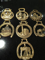 COLLECTION OF VINTAGE HORSE BRASSES