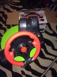 PS3 wireless racing wheel