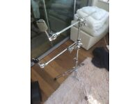Cymbal boom stand
