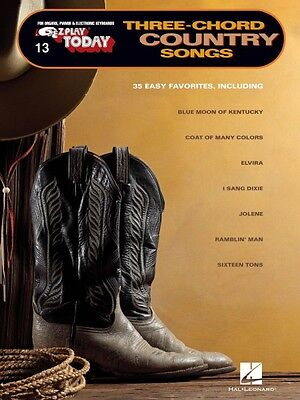 Three-Chord Country Songs Sheet Music E-Z Play Today Book NEW 000100248