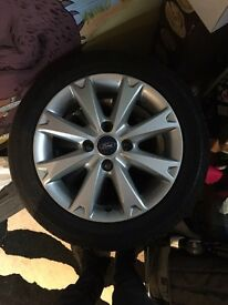 Fiesta alloys