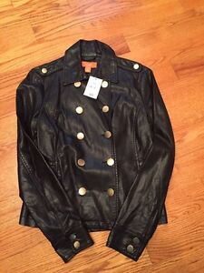Brand new military style faux leather jacket Peterborough Peterborough Area image 1