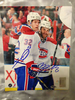 Brandon Prust, Moen, Gorges Autographed 8x10's and Jersey #