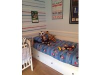Ikea day bed, 2 beds and 3 drawers