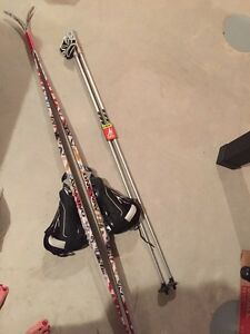 Brand new Cross Country Skis boots and poled