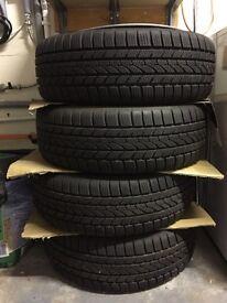 Winter wheels 195/55 r16