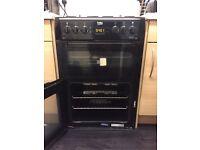 Beko double gas oven