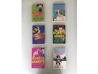 Horrid Henry books by Francesca Simon