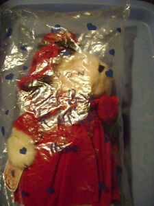 "AVON Hat Box Teddies Collectible Bear ""ROSE"" - BRAND NEW & MINT! London Ontario image 4"