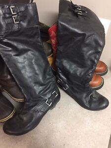 4 pairs of various boots  Strathcona County Edmonton Area image 1