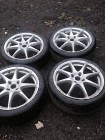 Set of 4 alloys