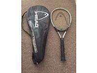 Head tennis racket and bag