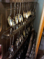 Collectible Spoons in HEARTBEAT Thrift Store/BayView Mall