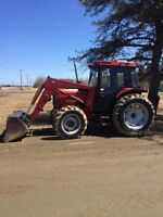 1985 Case Int. 885 4x4 with 2255 Loader