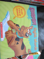 Scooby Doo Sight words 10 books and 2 work books