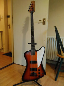 Epiphone Thunderbird Bass (w/ modified neck)
