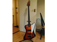 Epiphone Thunderbird Bass (w/ modified neck)
