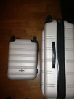 $350 Rockland Hardside Luggage Set- 20' & 28' Upright
