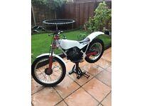 Fantic progress 1 80cc trials bike