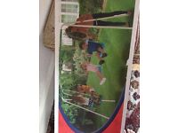 Swing and glider for kids