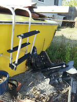 Trade 21' Searay for enclosed sled trailer