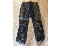 Motorbike trousers, wolf motorcycle leather