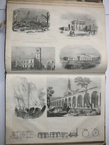 Antique Book Knight's Pictorial Gallery of Arts Useful Arts 1850 London Ontario image 5