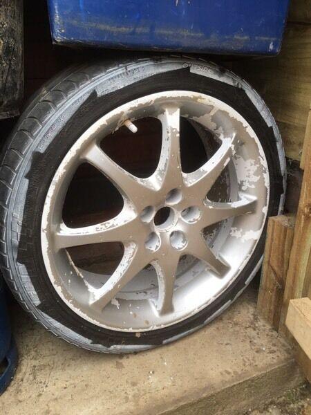 """Toyota Celica 17"""" alloy wheel"""