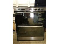Stoves Double Oven Grill and Ceramic Hob