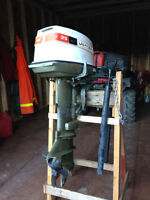 Johnson 25 hp outboard motor