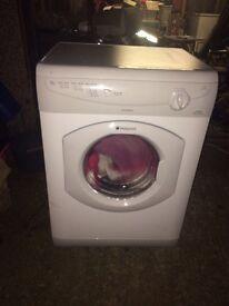 Hotpoint 6 kilo vented dryer
