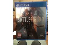Battlefield 1 PS4 Used Once!
