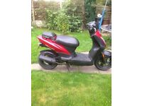 50cc Scooter with MOT till end of August 2017
