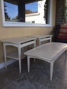Mid-century Modern Coffee/End Tables in Annie Sloan Chalk Paint
