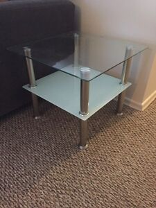 Tempered Glass Ends Tables