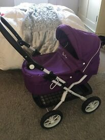 Toddler silver cross pram