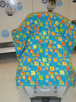 Infant Seat Canopy Cover/Blanket in Northwest