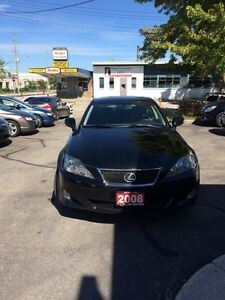 2008 Lexus is250 AWD Kitchener / Waterloo Kitchener Area image 2
