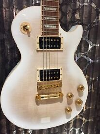 Gibson Les Paul signature T gold hardwear, alpine white burst