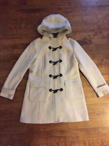 Women's BANANA REPUBLIC winter dress coat, size XL