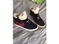 Women's/girls Nike Blazers size 5
