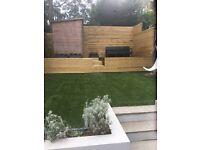 Artificial grass offcut 2.4m x 1m
