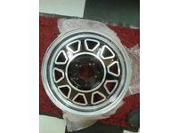Rare volvo alloy wheels 70's