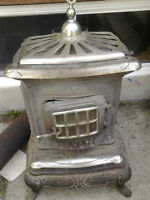 Antique wood stove