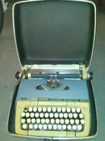 Typewriter and Movie Projectors