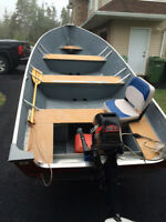 16 Foot Lund Boat, Motor and Trailer