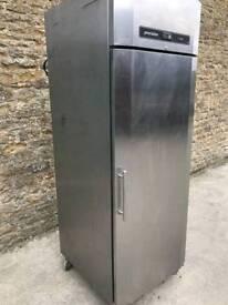 Gram stainless fridge